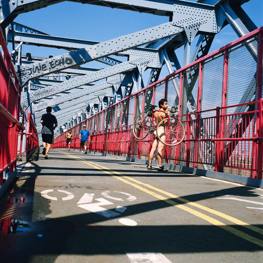 seth on williamburg bridge