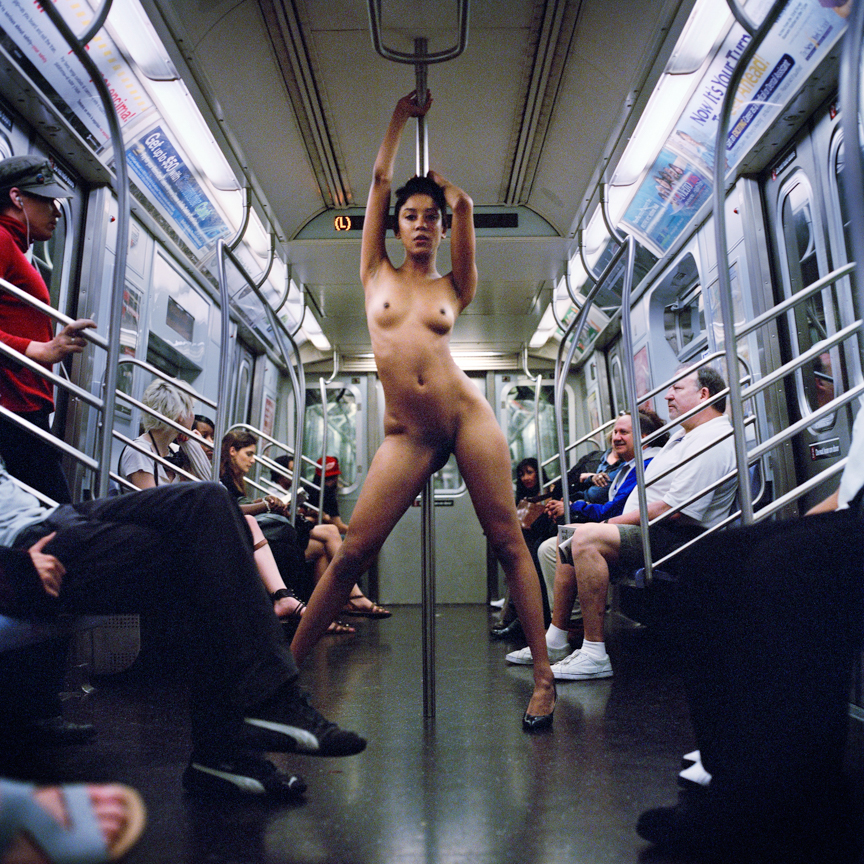 jocelyn nude on subway L train