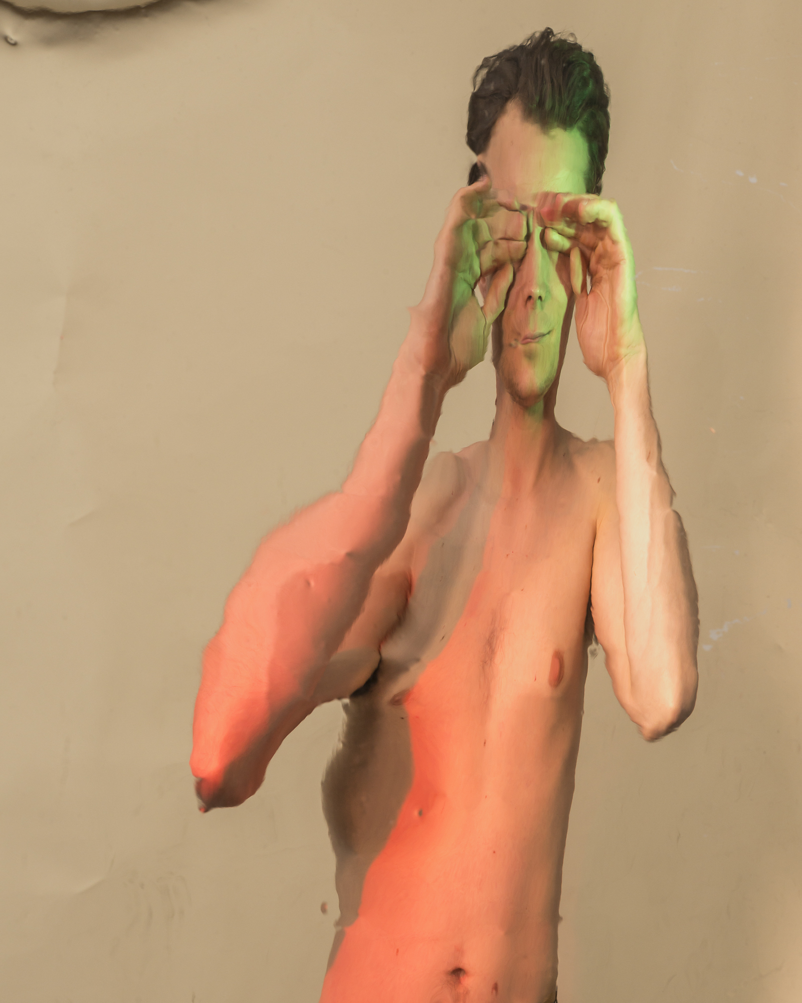 Distorted Photographs of Nick by Zach Hyman
