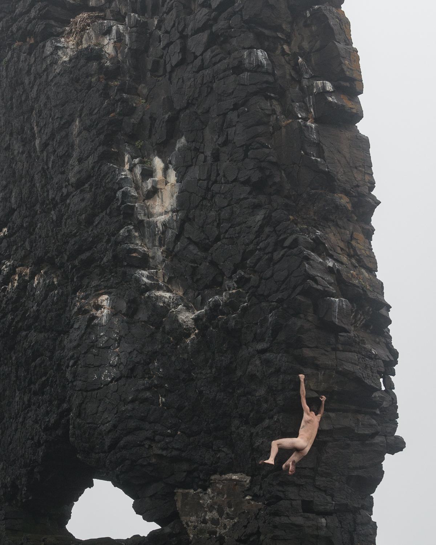 Climbing Monolith Reflect Zach Hyman Photography