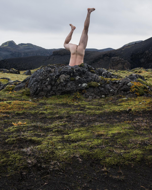 dive into Landmannalaugar reflect by Zach Hyman Photography
